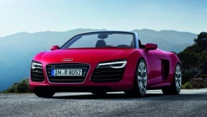 Vielleicht bald auch mit Android? Ein Audi R8 Spyder