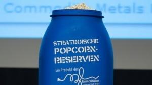 Trotz gedrückter Stimmung wegen der NSA-Enthüllungen gab es immer noch Platz für Popcorn.