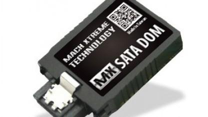 Die DOM-SSDs eignen sich für Systeme ohne mSATA-Schnittstelle.