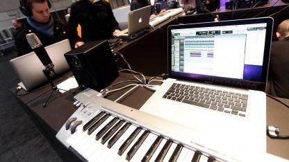 Studiotechnologie auf der Cebit 2010