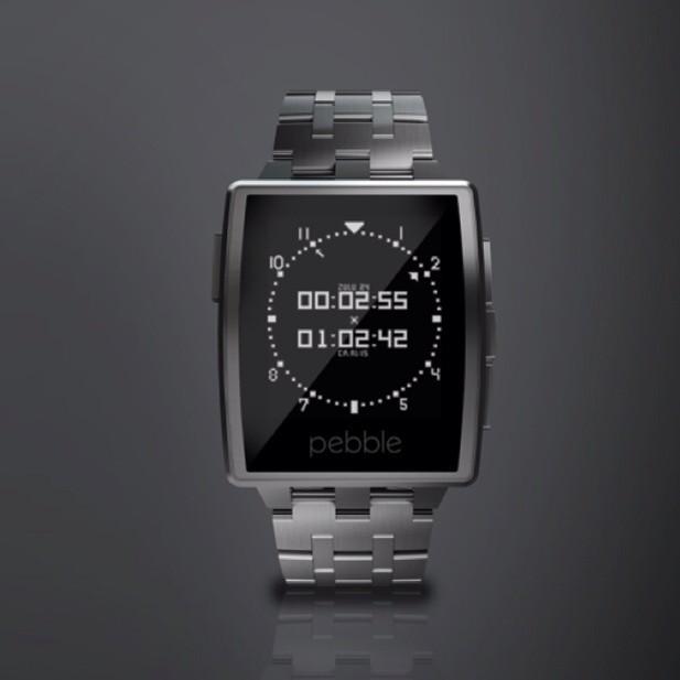 Gorilla-Glas und Metall: Pebble Steel - die unverwüstliche Smartwatch
