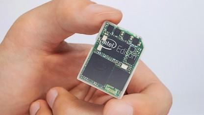Das Edison-System ist so groß wie eine SD-Speicherkarte.
