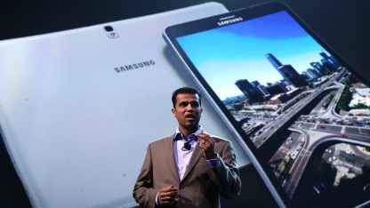 Samsung zeigt drei neue Galaxy Tabs und ein neues Galaxy Note.