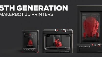 Makerbot Industries: fünfte Generation der 3D-Drucker auf der CES 2014