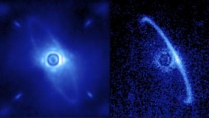 GPI-Aufnahme des Sterns HR4796A: Planet in einer Minute gesichtet