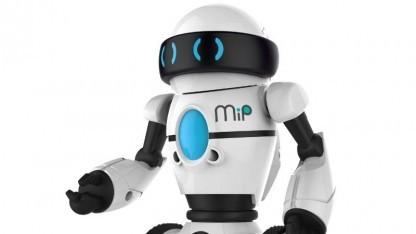 Roboter MiP: Wer umfällt, verliert.