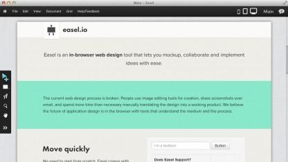 Visueller Webeditor Easel