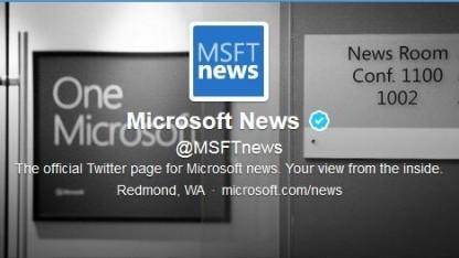 Twitter-Konto Microsoft News: Tweets gelöscht