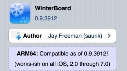 Winterboard für iOS 7 ist da.