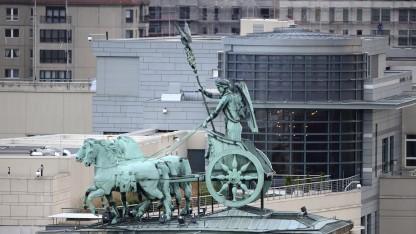 Könnte weiter der Spionage dienen: der angebliche Horchposten auf dem Dach der Berliner US-Botschaft