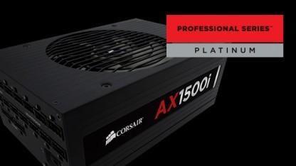 Das AX1500i ist eines der ersten Netzteile mit 80 Plus Titanium.