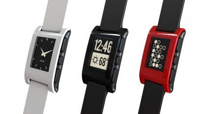 Smartwatch Pebble, die bislang erfolgreichste Kickstarter-Kampagne