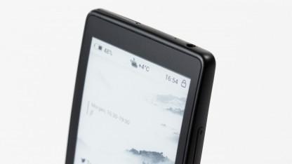 Das E-Paper-Display des Yotaphones