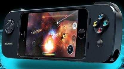 iPhone als Konsole mit Logitechs Powershell