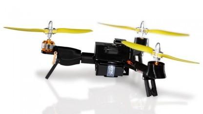 Die Pocket-Drohne benötigt die Stellfläche eines 7-Zoll-Tablets.