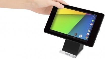 Asus zeigt mit dem PW100 eine drahtlose Ladestation für das Nexus 7.