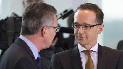 Justizminister Maas und Innenminister de Maizière haben sich bezüglich der Vorratsdatenspeicherung geeinigt.