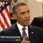 ZDF-Interview: Obama wirbt um Vertrauen, bleibt aber in der Sache hart