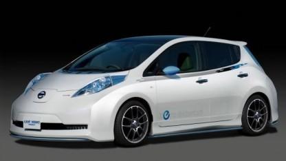 Elektroauto Nissan Leaf: Ausgangspunkt für Flotte autonomer Autos