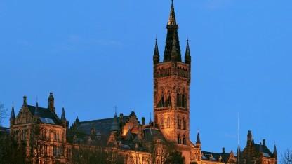 Hauptgebäude der Universität Glasgow