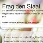 """Frag den Staat: Ministerium knickt im Streit um """"Zensurheberrecht"""" ein"""