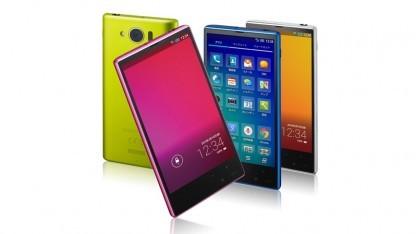 Das neue Aquos Phone Serie Mini von Sharp hat ein Igzo-Display mit Full-HD-Auflösung.