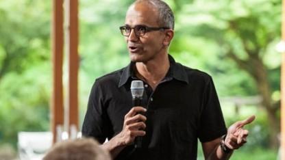Bild zu «Microsoft: Satya Nadella soll Steve Ballmers Nachfolger werden»