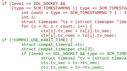 Problematischer Code im Linux-Kernel