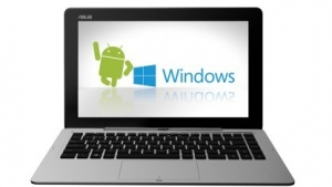 Das Tranformer Book TD300 mit Android und Windows 8.1