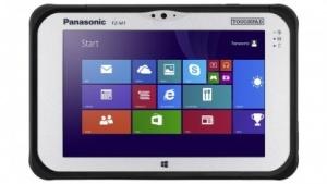 Das FZ-M1 ist ein Windows-8-Tablet, das auch den rauen Alltag auf einer Baustelle schadlos überstehen soll.