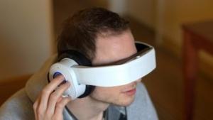 Der zweite Prototyp der Glyph kombiniert ein Headset mit einer Datenbrille.