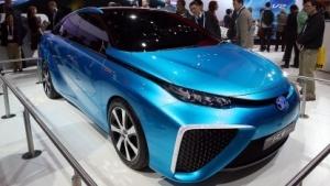 Toyota FCV (auf der CES 2014): In-Car-Infotainment war gestern.
