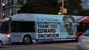 Appell gegen Überwachung auf einem Bus in Washington