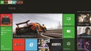 Dashboard der Xbox One