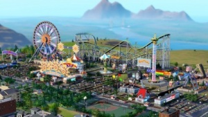 Sim City mit dem Amusement-Park-Set