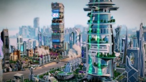 Sim City mit dem Amusement-Park-Set