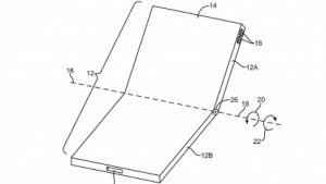 Flexibles Display eines Smartphones