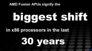 AMD geizte bei der Ankündigung von Llano nicht mit großen Worten.