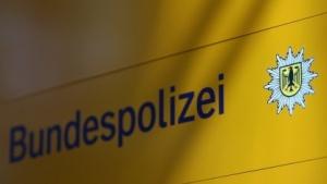 Logo und Schriftzug der Bundespolizei