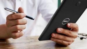 Das Dell Venue 8 Android nutzt den ältereren Atom Z2580.