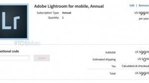 Adobe Lightroom: Version für das iPhone ist in Vorbereitung.