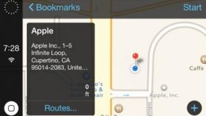 So könnte Apples iOS in the Car aussehen.