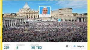 Mit gutem Beispiel voran: Papst Franziskus ist auf Twitter aktiv.