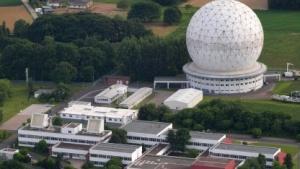 Gelände des Fraunhofer-Instituts in Wachtberg bei Bonn