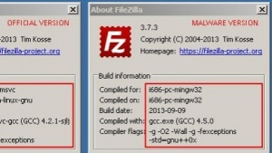 Vom Filezilla-FTP-Client sind Versionen im Umlauf, die Zugangsdaten Dritten zuschicken.