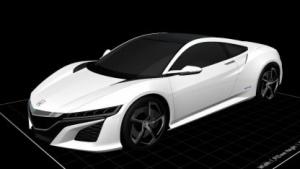 Acura NSX: 3D-Dateien unter CC-Lizenz veröffentlicht