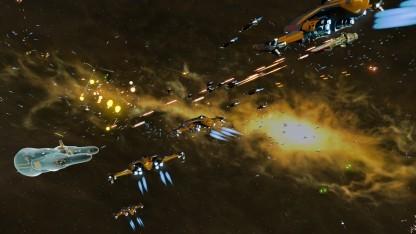 Star Swarm profitiert sehr stark von der Mantle-Schnittstelle.