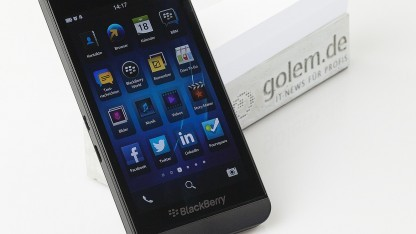 Das Comeback mit dem Blackberry Z10 scheiterte.