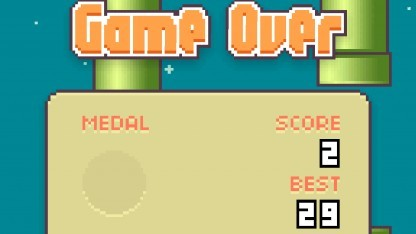 Flappy Bird kann ein unglaublich frustrierendes Spiel sein.