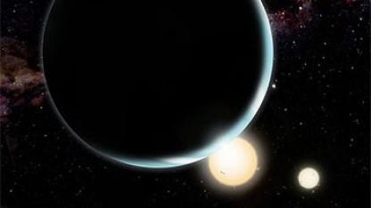 Exoplanet Kepler-34b mit Doppelstern: feindliche Bedingungen